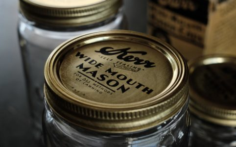 Kerr Wide Mason Caps