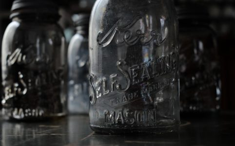 Kerr Self Sealing Mason Jar 32oz 1914~1920年代
