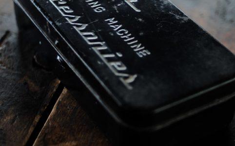 Tigerミシンのパーツ収納缶