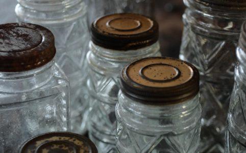 戦前のガラス瓶