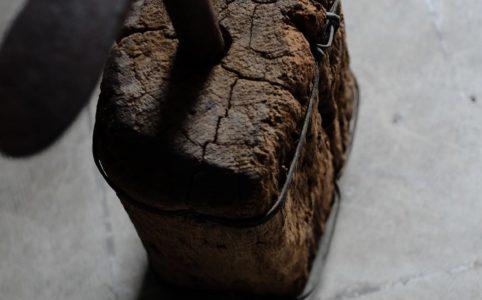 靴の修理に使われていた古い台金