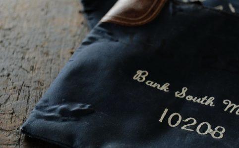 BANK SOUTH MACON デポジットバッグ