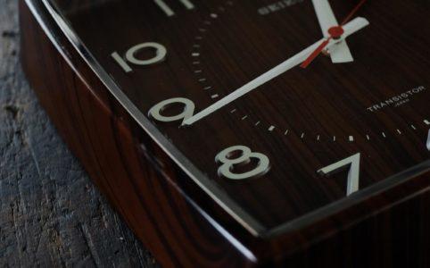 SEIKO セイコー 掛け時計 電池式クオーツムーブメント交換済み