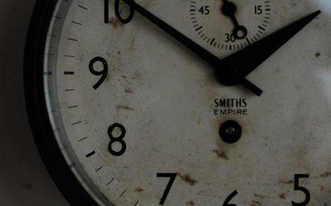 SMITH手巻き式船舶時計