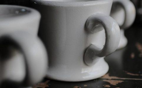 Unknown(無名)陶器のマグカップ