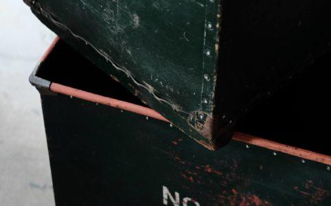 グリーンのボテ箱