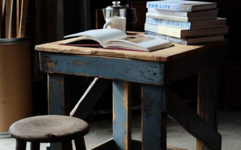 アメリカの工場で使われていたローテーブル