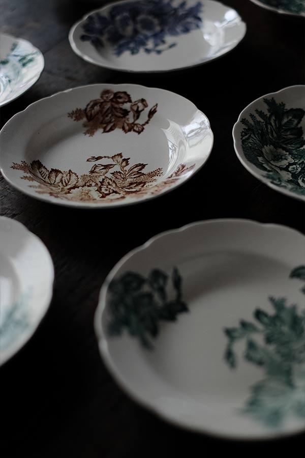 SASAI IRONSTONE デザート皿