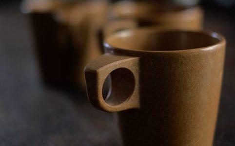 メラミンのマグカップ