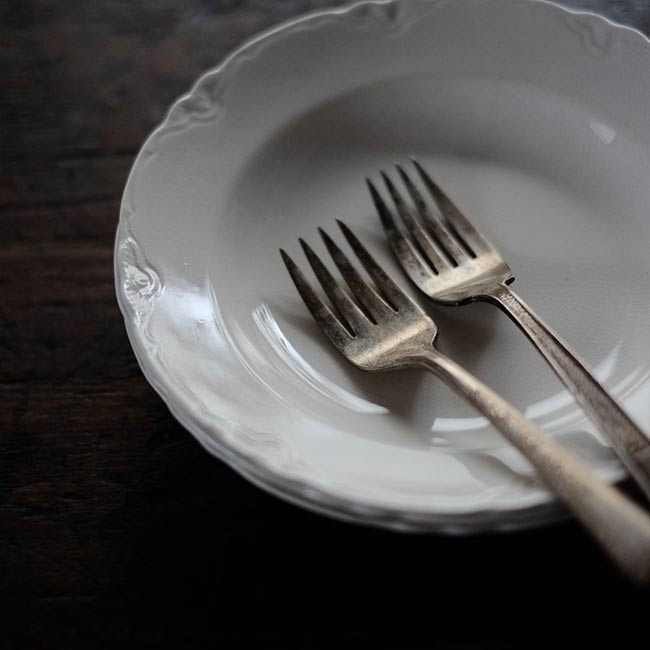 SASAI IRON STONE デザート皿