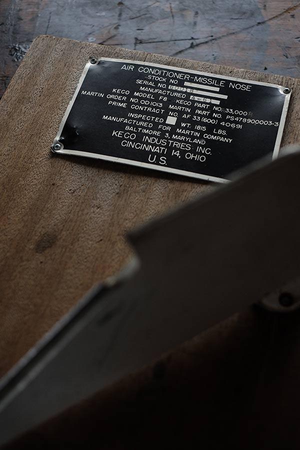 第二次大戦で使われた爆弾の破片