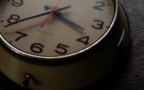 SEIKO Transistor 使い古されたセイコーのバス時計