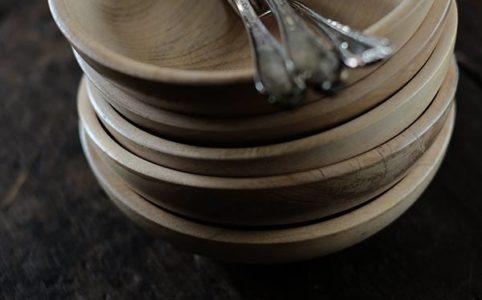 ブナの木皿