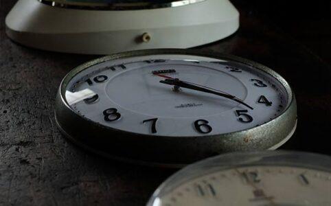 NationalとCitizenの掛け時計