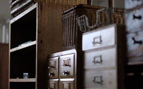 収納系の小家具たち