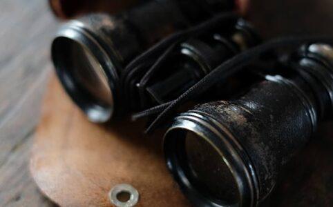 戦前のオペラグラス(双眼鏡)