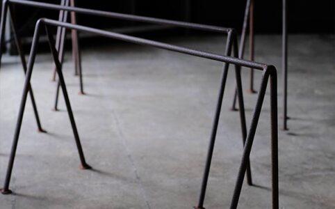 作業台の脚(鉄脚)セット