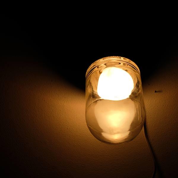 壁付けドームライト(電球E-26)